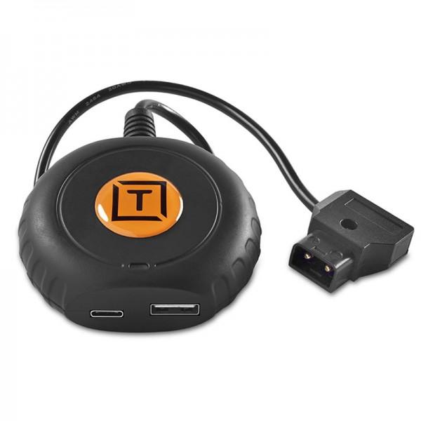 Tether Tools ONsite D-Tap to USB-C PD USB-C Hub mit D-Tap-Eingang