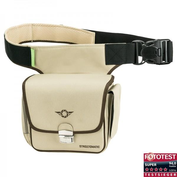 Cosyspeed Kameratasche mit Hüftgürtel Camslinger Streetomatic Fototasche - khaki