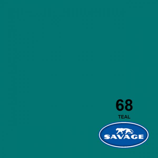 Savage Teal Papier 11 x 2.72 m Hintergrund Rolle