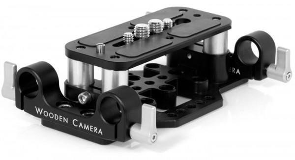 Wooden Camera Wooden Camera Universal Baseplate für 15mm Stangen
