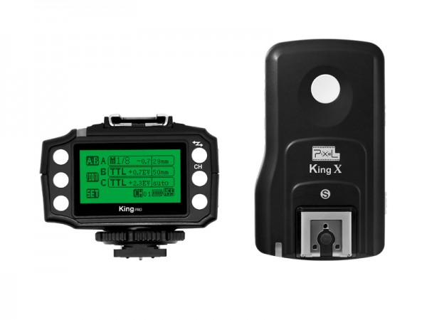 Pixel Wireless Trigger für Sony Mi- i-TTL Radio Blitzauslöser 2er-Set King Pro