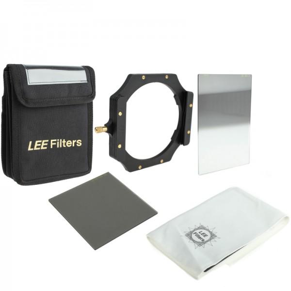 LEE Filters Digital SLR Starter Kit mit Foundation Kit Filterhalter, ND 0,6 Hard Grad Grauverlaufsfi