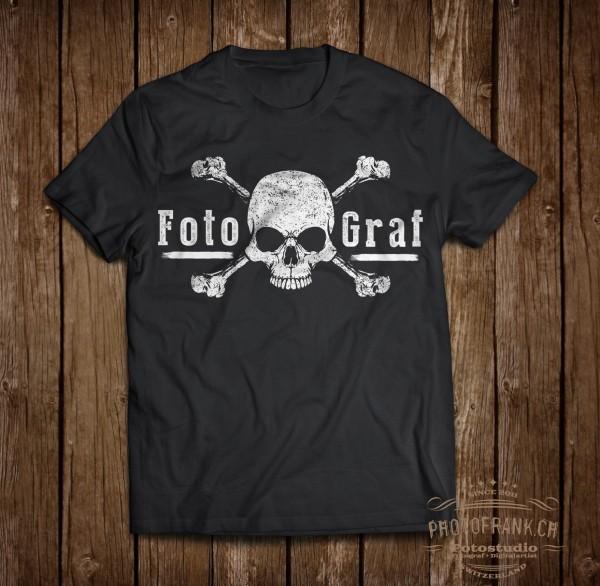 T-Shirt Skull - weiss