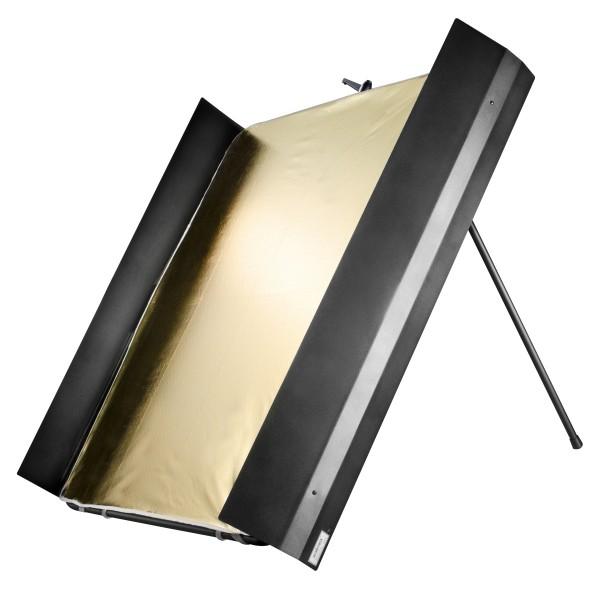 Walimex Pro Reflektorpanel mit Lichtklappen - 1x1m