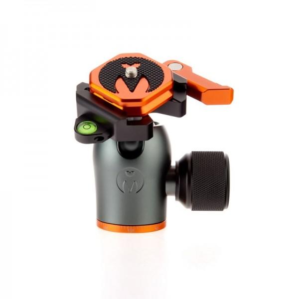 3 Legged Thing AirHed Pro Lever Grau - Kleiner, leistungsfähiger Kugelkopf mit Arca-kompatibler Schn