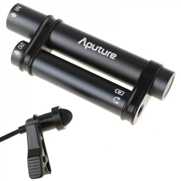 Aputure A.lav Lavalier-Ansteckmikrofon für iPhone, iPad, Android Smartphones, Kameras, Camcorder