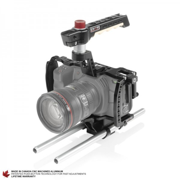 SHAPE BlackMagic Pocket Cinema 4K/6K 15mm Rod System