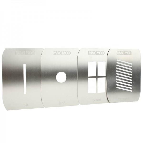 MagMod MagMasks Standard Gobo-Masken-Set für MagBeam-Aufsteckblitz-Lichtformer