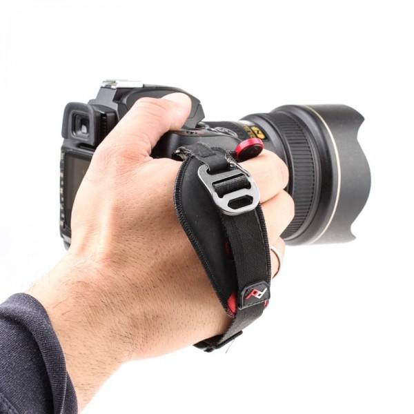 Peak Design Clutch Handschlaufe für DSLR-Kameras und spiegellose Systemkameras