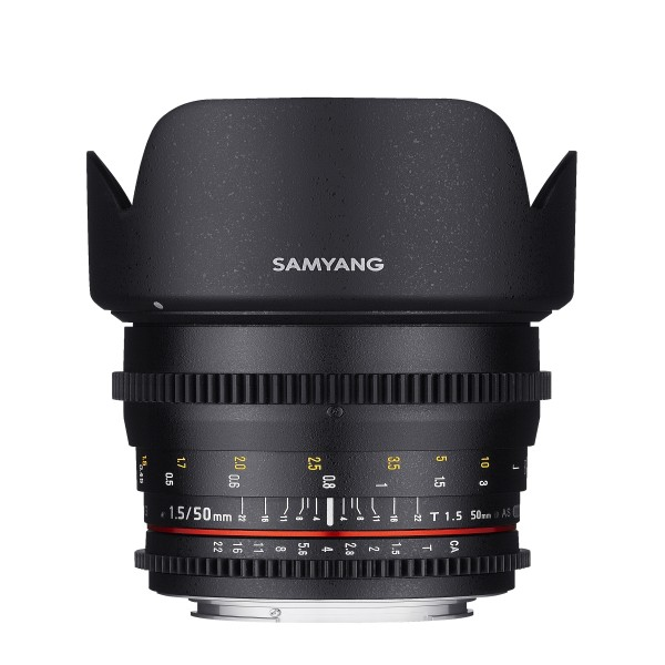 Samyang Objektiv 50/1,5 Video DSLR Canon EF