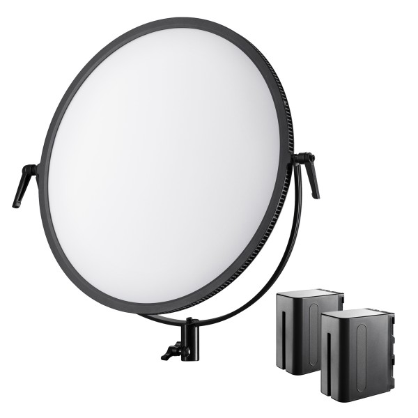 Walimex Pro Soft LED 700 Round Bi Color - Set 1