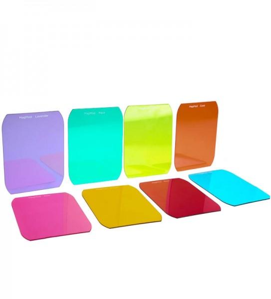 MagMod Artistic Gels Farbfilter-Set für Aufsteckblitze mit 8x Farbfilter (Effektfilter)