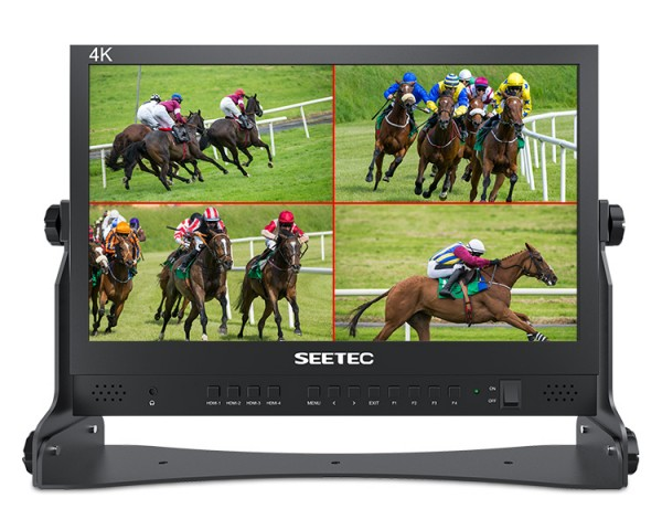 Seetec ATEM156 - FullHD Quadsplit Monitor für ATEM Mini
