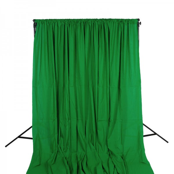 Quenox Greenscreen 300 x 600 cm 160 g/m2 grün (Chroma Key)