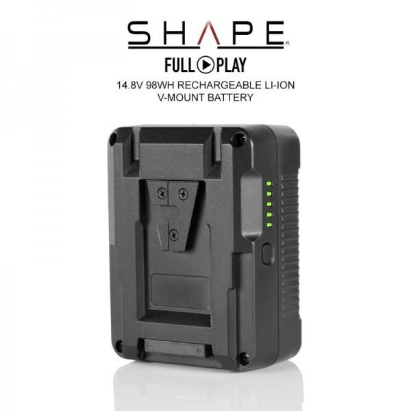 SHAPE V-Mount 14.8V 98Wh wiederaufladbare Lithium-Ionen Batterie