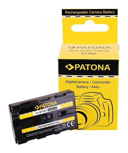 Patona Akku für Sony NP-F550 F330 F530 F750 F930 F920 F550, CCD-SC