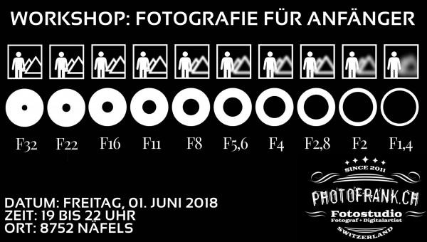 Workshop: Fotografie für Anfänger