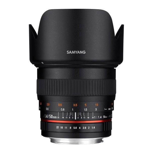 Samyang Objektiv MF 50mm F1.4 Sony E