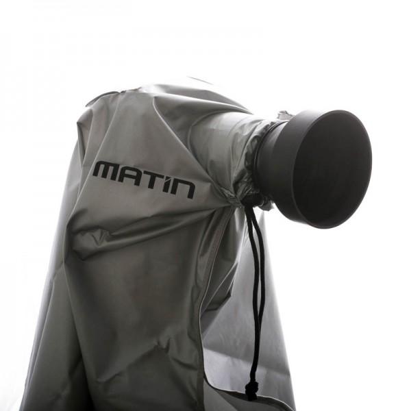 Matin Digital Rain Cover Regenschutzhülle für DSLR oder Systemkamera mit Objektiv bis 400 mm Gesamtl