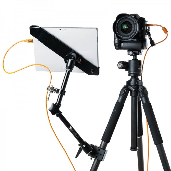 Tether Tools Aero Tab L2 Befestigungssystem für Tablet-Computer 13,5-20 Zoll mit LOPRO-2 Bracket Sta
