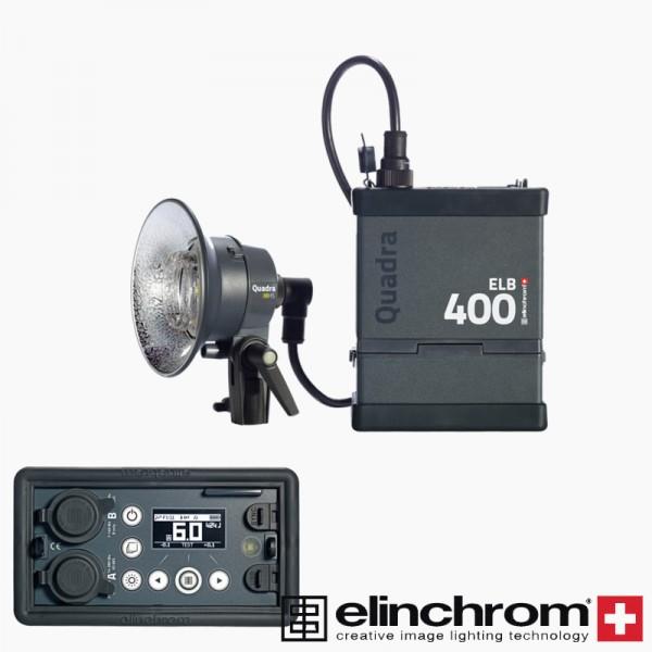Elinchrom Batterie Blitzsystem ELB 400 HI-SYNC TO GO