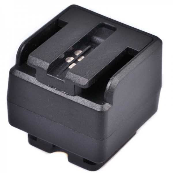 JJC Blitzadapter für Sony/Minolta Blitz an Standard ISO Kamerablitzschuh