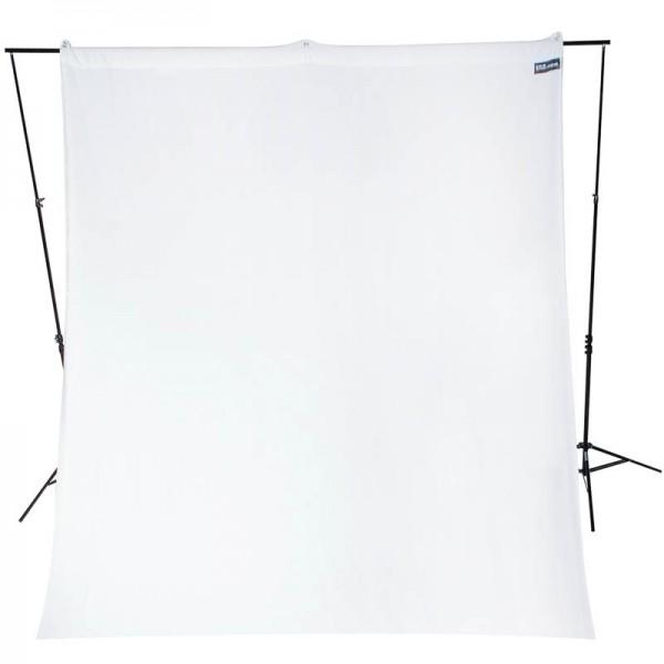 Westcott Hintergrundstoff 270 x 300 cm - weiss
