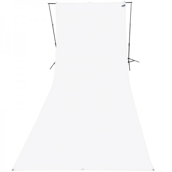 Westcott Hintergrundstoff 270 x 600 cm - weiss