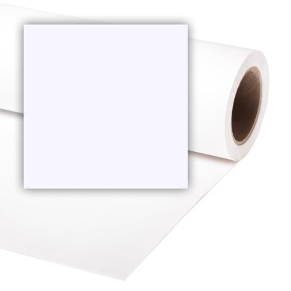 Colorama White Papier Hintergrund Rolle 3.55 x 15 m