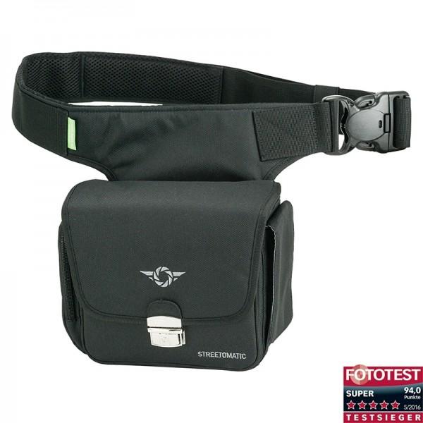 Cosyspeed Kameratasche mit Hüftgürtel Camslinger Streetomatic Fototasche - schwarz