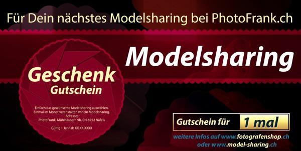 Geschenkgutschein Modelsharing
