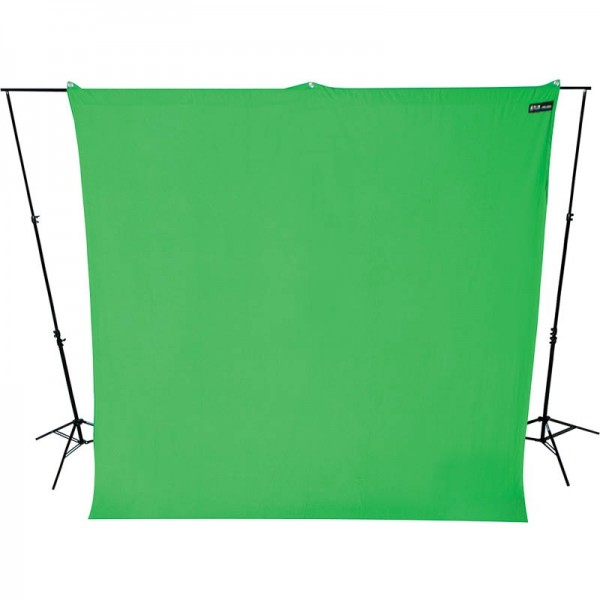 Westcott Hintergrundstoff 270 x 300 cm - Chroma Key Grün