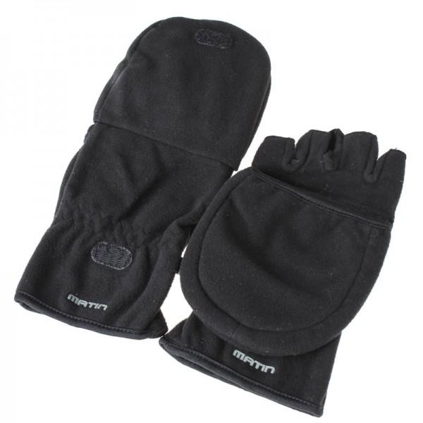 Matin Foto-Handschuhe in schwarz