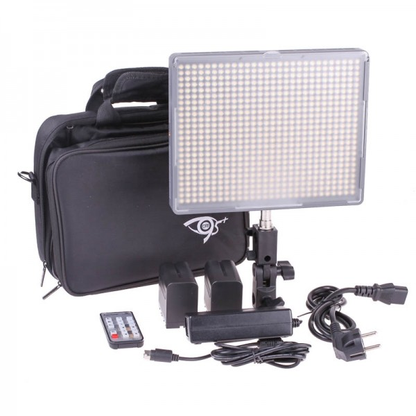 Aputure HR672W Flächenleuchte (Videoleuchte/LED-Panel) 2080 Lux (100 cm) - für Video und Foto