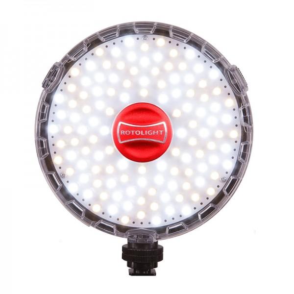 Rotolight Neo LED-Videoleuchte Bi-Color mit 3150-6300 Kelvin und 1077 Lux (0,9 m)