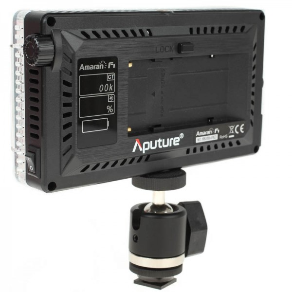 Aputure AL-F7 Bi-Color-LED-Videoleuchte mit 1500 Lux Lichtleistung und CRI 95