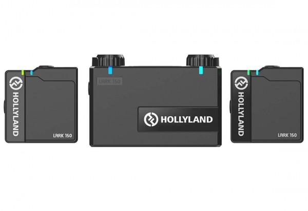 Hollyland Lark 150 - kompaktes UHF-Drahtlos-Set mit 1xRX und 2xTX