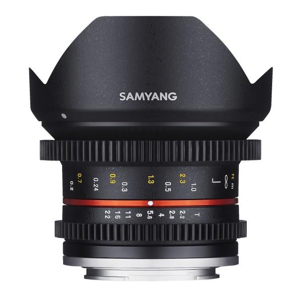 Samyang Objektiv MF 12mm T2,2 Video APS-C Canon M