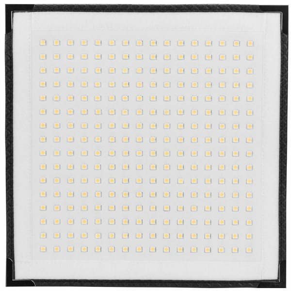 Westcott Flex 1' x 1' Daylight Mat Flexibles LED-Panel 1900 Lux (100 cm) 5600 Kelvin 30 x 30 cm