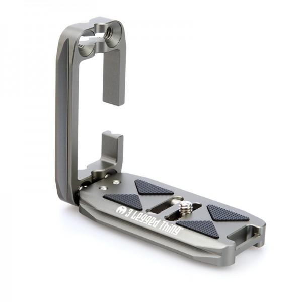 3 Legged Thing ELLIE Copper universeller Schnellwechselwinkel kompatibel mit Arca - grau