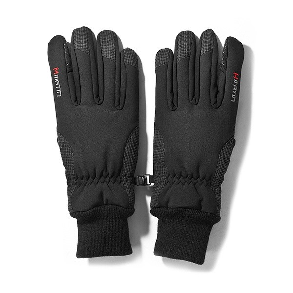 Matin Finger-Handschuhe für Fotografen schwarz - Grösse L