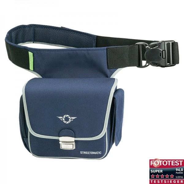 Cosyspeed Kameratasche mit Hüftgürtel Camslinger Streetomatic Fototasche - blau