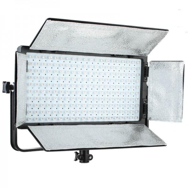 Quenox LED-Flächenleuchte DLP 2000 Bi-Color Set inkl. Lampenstativ 12000 Lux