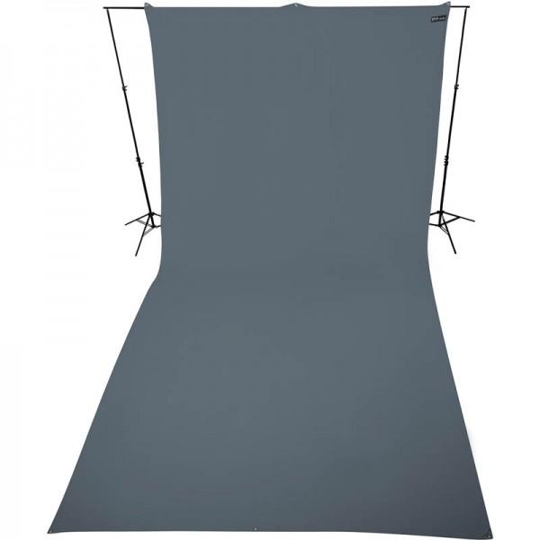 Westcott Hintergrundstoff 270 x 600 cm - grau