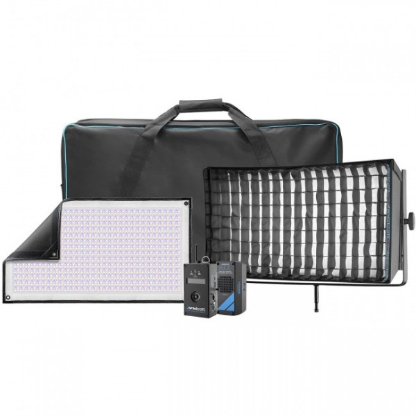 Westcott Flex Cine DMX RGBW 1-Light Gear Kit, 30.5 x 61.0 cm (1' x 2')