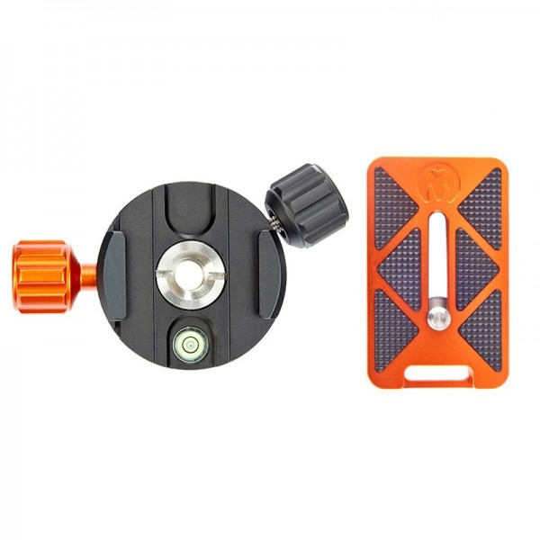 3 Legged Thing 360 Clamp Schnellwechselsystem inkl. QR7 Schnellwechselplatte 62 mm, kompatibel mit A