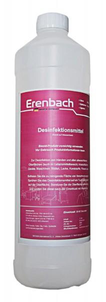 1 Liter Desinfektionsmittel Händedesinfektionsmittel auf Biozid Wasserbasis – Bakterizid Lavurozid V
