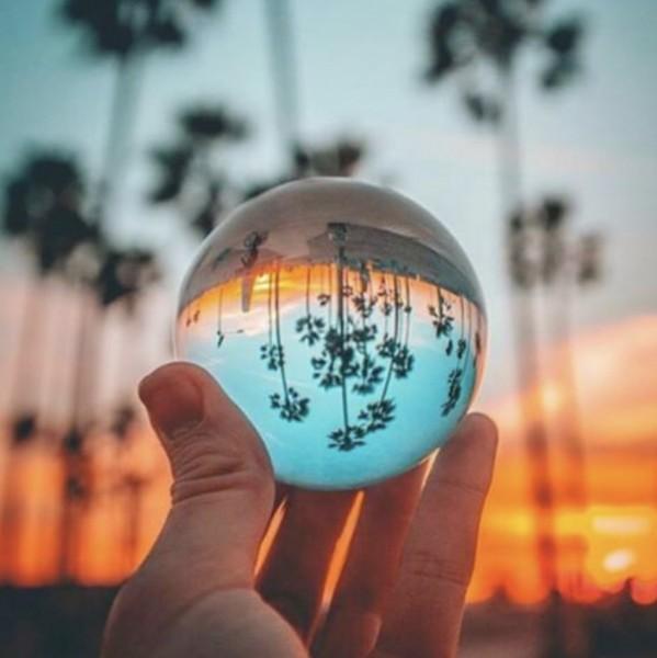 ArktisPRO Profi Foto Glaskugel für kreative Aufnahmen