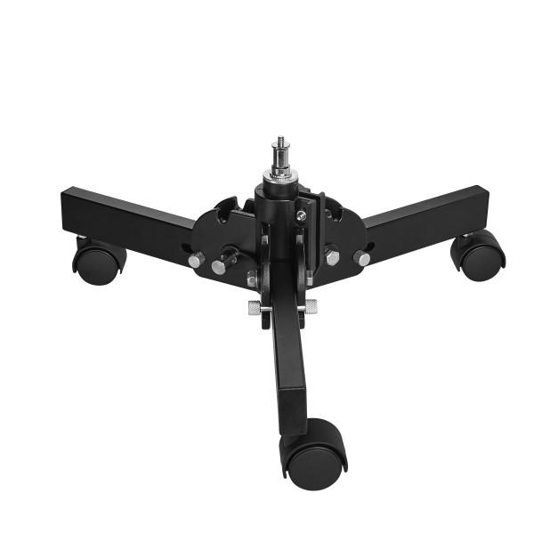 Walimex Pro Boden Rollstativ kompakt 15cm