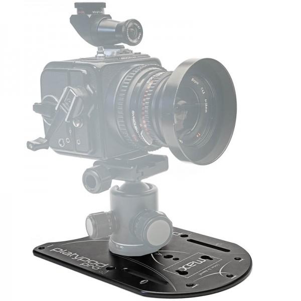 Platypod Max Universal-Stativ (Flachstativ, Bodenstativ) mit großer Basis-Platte - z.B. für DSLR-Kam
